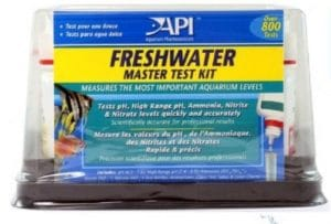 Aquaponics water quality test kit